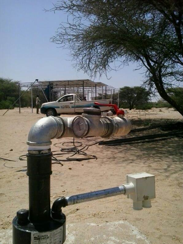 Solar Borehole Pumps to cut Water Costs in Lodwar